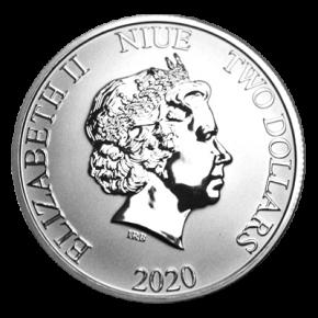 1 Oz. Niue - Lion King 2021