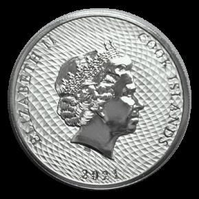 500 x 1/4 Oz. Cook Islands - Bounty 2021 (Masterbox)