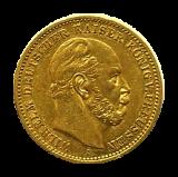 J 243 - 20 Mark Preußen - Wilhelm I
