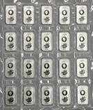 20 x 50 Gramm  Cook Islands 2017 - Münzbarren  (Silber  999.9) - Neues Design