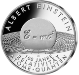 10 Euro - Albert Einstein (2005 - Spgl.)