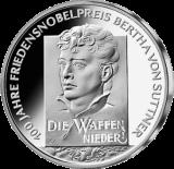 10 Euro - Bertha von Suttner (2005 - Spgl.)