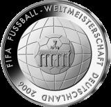 10 Euro - Fußball-WM Deutschland 2006 (2006 - Spgl.)