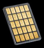 50 x 1 Gramm Goldbarren (Heimerle + Meule, Pforzheim)