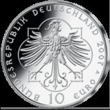 10 Euro - 800. Geburtstag Elisabeth v. Thüringen (2007 - Spgl.)