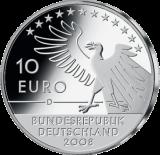 10 Euro - 200. Geburtstag Carl Spitzweg (2008 - Spgl.)