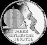 10 Euro - 400 Jahre Keplersche Gesetze (2009 - Spgl.)