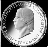 10 Euro - 200. Geburtstag Robert Schumann (2010 - Spgl.)