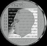 10 Euro - 100. Geburtstag Konrad Zuse (2010 - Spgl.)