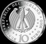 10 Euro - 300 Jahre Porzellanherstellung in Deutschland (2010 - Spgl.)