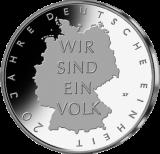 10 Euro - 20 Jahre Deutsche Einheit (2010 - Spgl.)