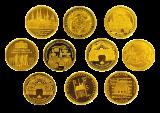 10 x 100 Euro BRD (verschiedene Motive)
