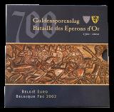 Belgien - KMS 2002 - 700 Jahre Guldensporenslag