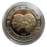 Belgien - 2 Euro - 2005 (Proof) Henri + Albert II