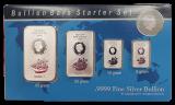 85 Gr. Cook Islands Münzbarren 2017 - Starter Set       (50, 20, 10, 5 Gramm)