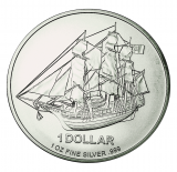 1 Oz. Cook Islands - Bounty 2010