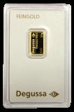 2,5 Gramm Goldbarren (Degussa)