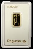 5 Gramm Goldbarren (Degussa)