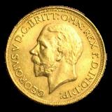 Großbritannien - 1 Sovereign - Georg V 1918 (C)
