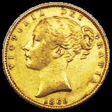 Großbritannien - 1 Sovereign - Victoria 1868