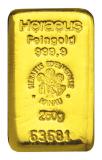 250 Gramm Goldbarren (Heraeus)