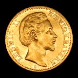 J 194 - 20 Mark Bayern - Ludwig II (1872-1873)
