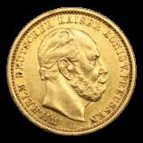 J 246 - 20 Mark Preußen - Wilhelm I - 1881 A