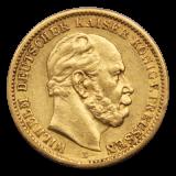 J 246 - 20 Mark Preußen - Wilhelm I - 1874 B