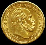 J 246 - 20 Mark Preußen - Wilhelm I