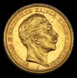 J 252 - 20 Mark Preußen - Wilhelm II - 1910 (J)