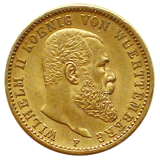 J 296 - 20 Mark Württemberg - Wilhelm II