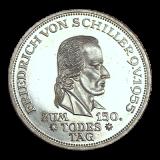 J 389 - 5 DM Friedr. Schiller 1955
