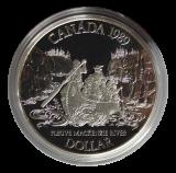1 Dollar 1989 (Proof)  -  McKenzie River