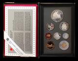 KMS 1997 Proof + Silberdollar