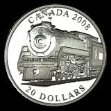 "20 $ Canada 2008 - Serie ""Lokomotiven"""