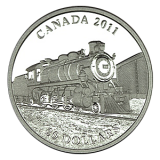 "20 $ Canada 2011 - Serie ""Lokomotiven"""