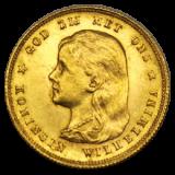 Niederlande - 10 Gulden - Wilhelmina (1897)