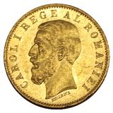 Rumänien - 20 Lei - Carol I - 1883