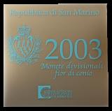 San Marino - KMS 2003 + 5 Euro (Silber)