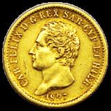Italien (Sardinien) - 20 Lire - Carl Felix - 1827 L
