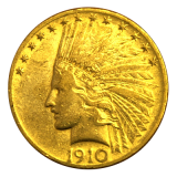 10 Dollars USA - Indianer 1910